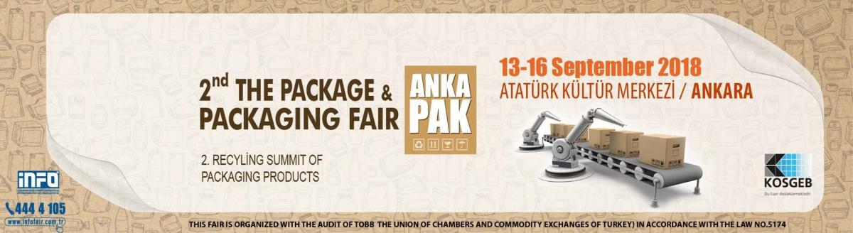 Anka Pak Packaging trade show in Ankara