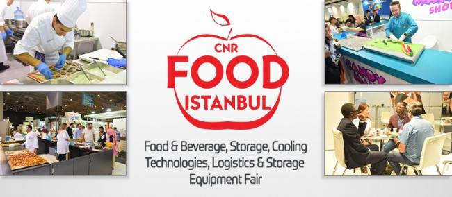 CNR Food Istanbul trade show