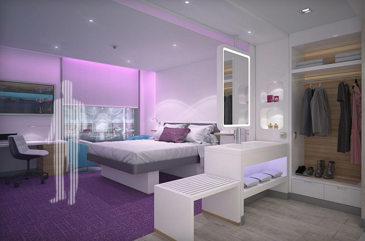 YOTEL hotel at Istanbul New Airport