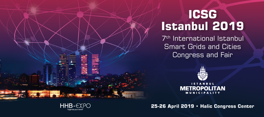 Istanbul Smart Grid ICSG 2019 banner