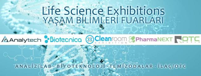 Life science exhibitions 2018 Turkey Istanbul