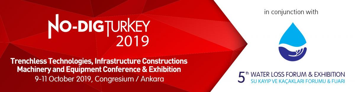No dig Turkey 2019 Trenchless Technologies - banner