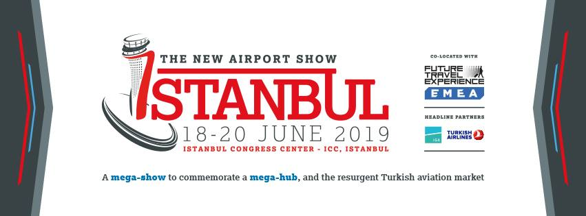 The New Airport Show Istanbul 2019 banner